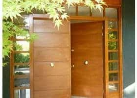 puerta blindada resepción