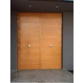 Puertas dobles de acero para casas