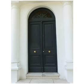 puerta de seguridad de acero