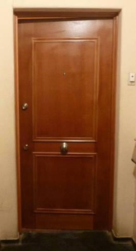 Puerta de seguridad para departamento