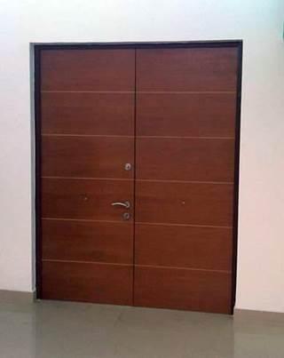 Puerta blindada doble para salones